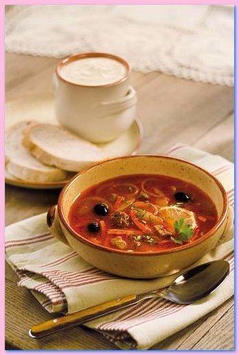 ТОП - 6 рецептов вкуснейших мясных солянок!