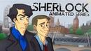 Заставка «Шерлока» в стиле «Чёрного плаща»