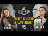 Pete Dunn vs Walter - NXT TakeOver New York - WWE United Kingdom Championship