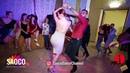 Talal Benlahsen and Natalya Sirenko Salsa Dancing in Lendvorets at The Third Front, Fri 03.08.2018