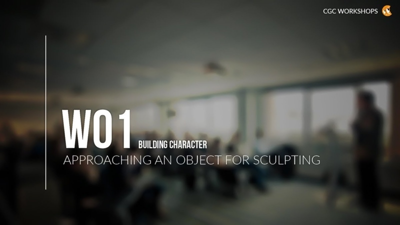 How To Approach Digital Sculpting: Realistic Characters with Blender Workshop Pt. 1