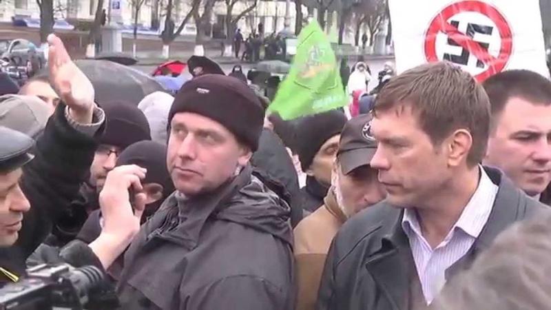 Олег Царев в Харькове: Мне важно, чтобы меня поддерживали люди, а не политики