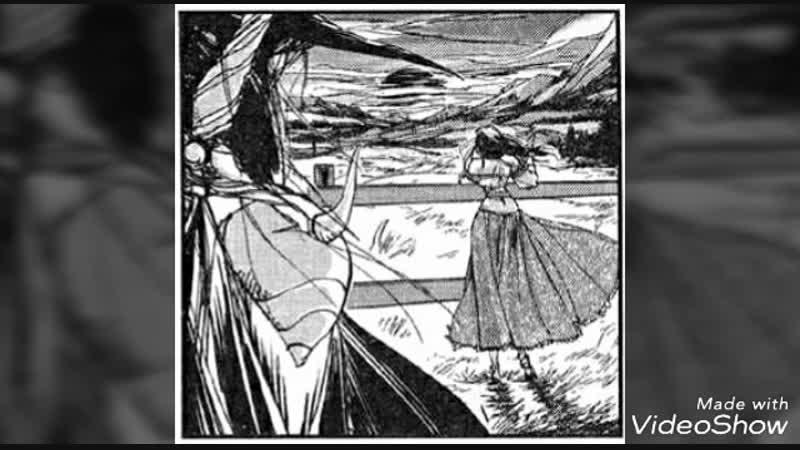 Parte comic original de Vampire Hunter D y Doris lang