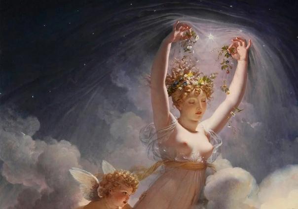 Эос Э́ос (др.-греч. ς, эпич. ώς, микен. a-wo-i-jo «утренняя заря»; из ПИЕ *héwsōs) в древнегреческой мифологии богиня зари, дочь Гипериона и титаниды Тейи, сестра Гелиоса и Селены (по другим