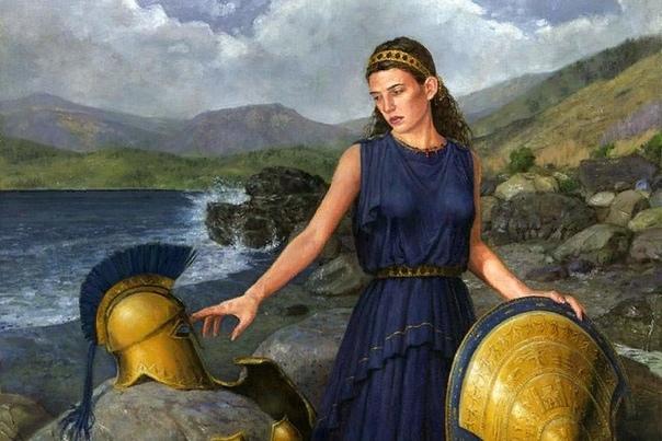 Фетида Молодая нимфа, обитающая на дне океана, отличалась от собственных сестер. Кроме небывалой красоты, которой обладали все нереиды, Фетида прославилась упорным характером и независимым