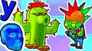 Кактус помогает ПРоХоДиМЦу справиться с Доктором ЗомБоссом в мире танцев 656 Игра для Детей
