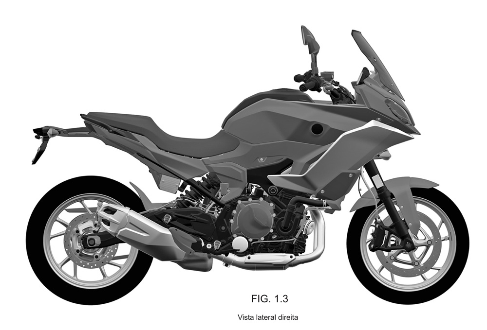 Патентные изображения BMW F850RS