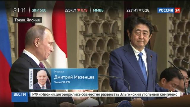 Новости на Россия 24 • Дмитрий Мезенцев: Россия и Япония создадут новый пример взаимодействия