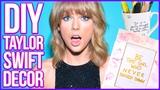 Taylor Swift Inspired DIY Room Decor