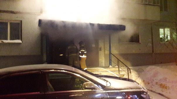 4 января по пр. Мира, 13 в мусорокамере горел мусор