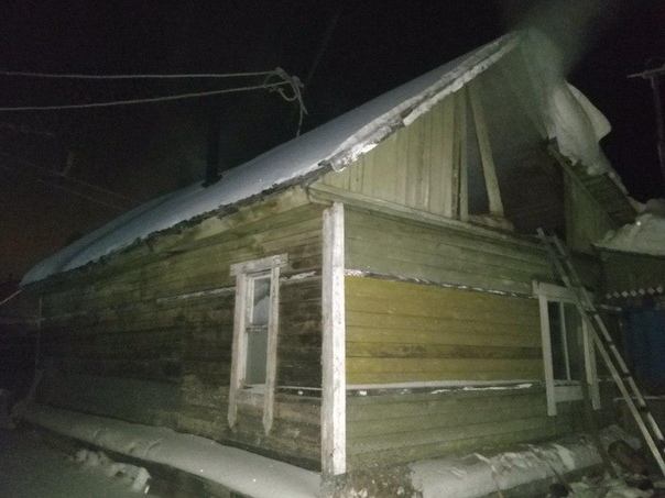 4 января горел жилой дом №48 по улице 7-ой ряд