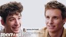 Ezra Miller and Eddie Redmayne Compete in a Compliment Battle | Teen Vogue