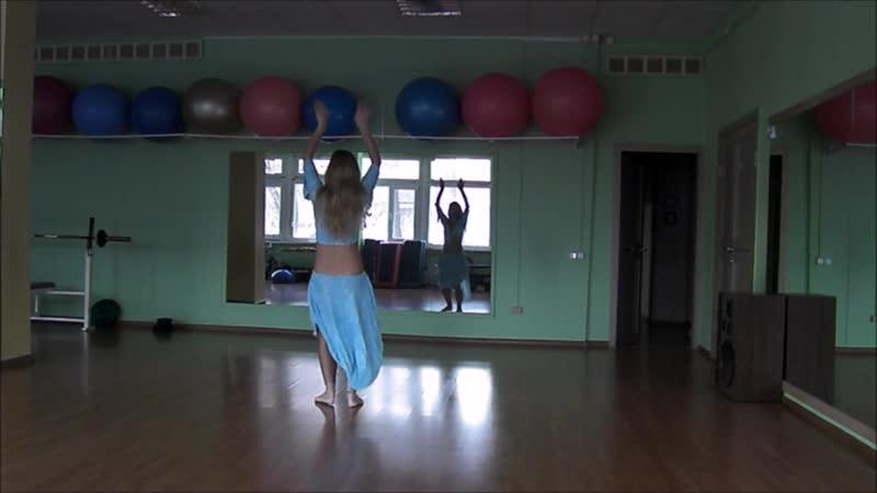 Танец Живота. Импровизация. Тренер Юлия