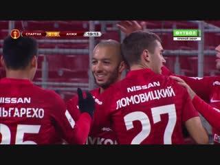 1-0 Софьян Ханни '20 «Спартак» - «Анжи»