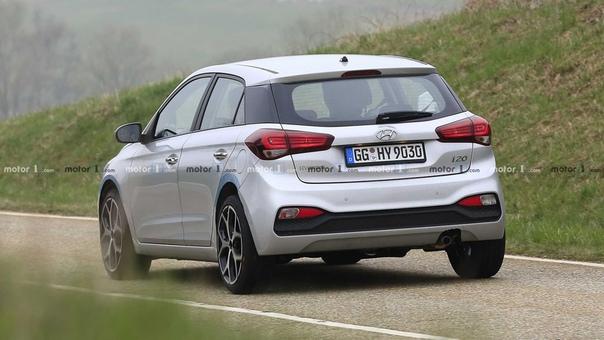 Фотошпионы впервые сняли прототип Hyundai i20 N.