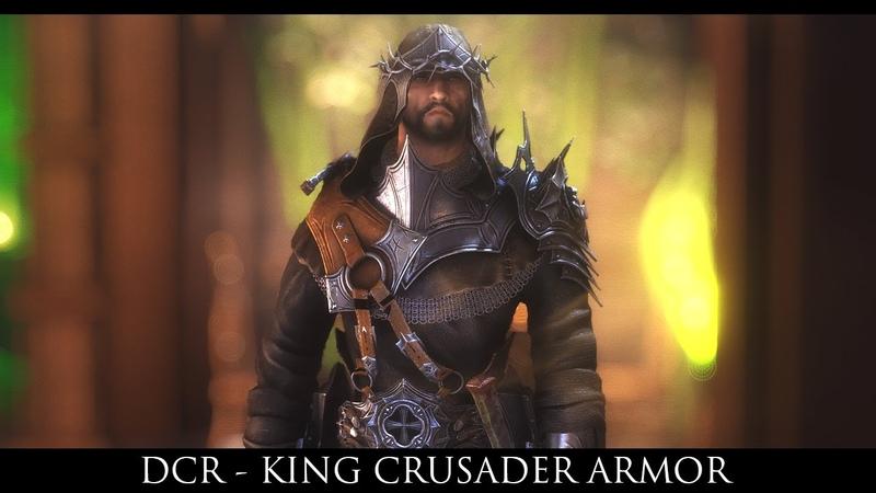 TES V - Skyrim Mods: DCR - King Crusader Armor