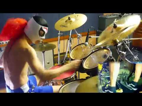 【紅 ドラム 1.4倍速】X JAPANの紅を1.4倍速で叩いてみた! - X JAPAN - KURENAI - 140% Speed -Drum cover