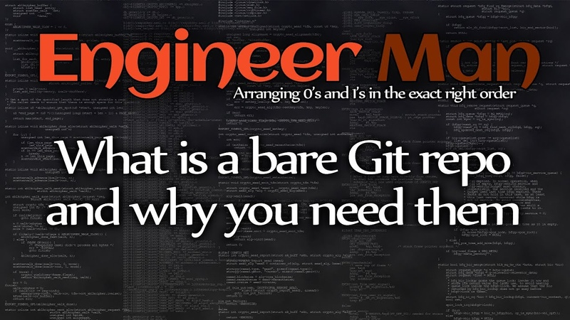What is a bare Git repo and why you need them