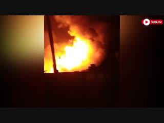 Частный дом сгорел при пожаре в Копейске