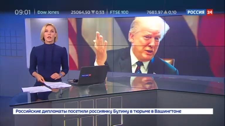 Новости на Россия 24 • Дональд Трамп приглашает Владимира Путина в Вашингтон