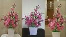 Cara Membuat Bunga Sakura dari Plastik kresek Bekas | Kerajinan Idetrik