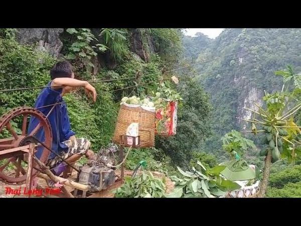 ĐÂY LÀ CÁCH CHUYỂN NA TRÊN NÚI ĐÁ XUỐNG CỦA NGƯỜI DÂN ĐỒNG BÀNH LẠNG SƠN I IThai Lạng Sơn