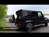 BRABUS 800 - G65 AMG V12 Turbo wooshes accelerations! overview