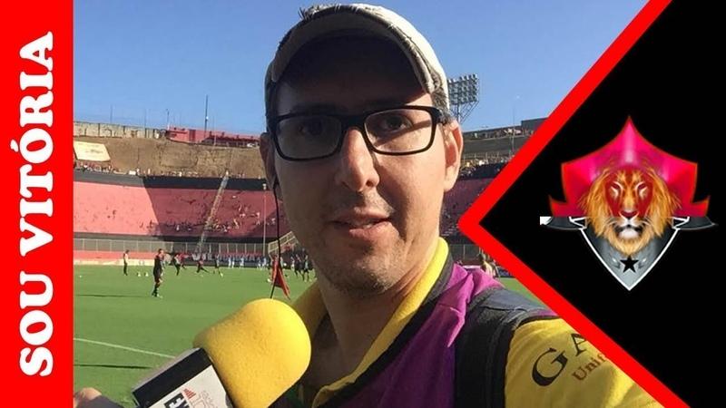 Reinaldo Oliveira comenta o jogo treino e faz análise dos reforços do Vitória