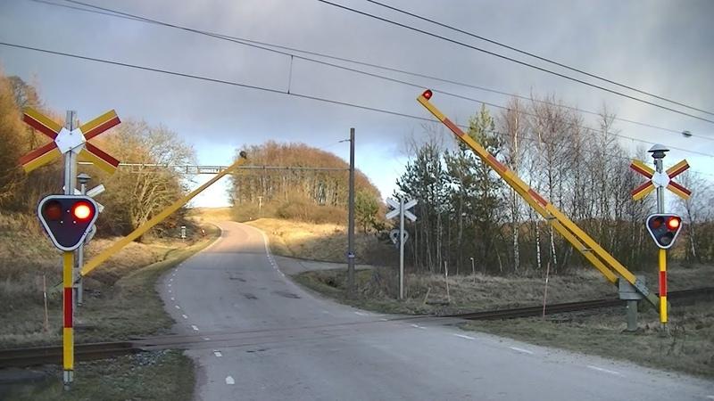 Spoorwegovergang Svedala (S) Railroad crossing Järnvägsövergång