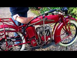 Мотоцикл indian powerplus, 1924 года