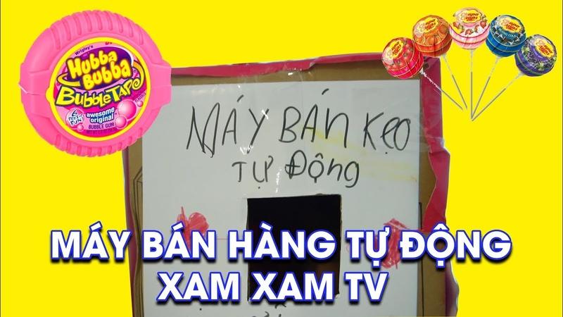 Đồ Chơi Trẻ Em Máy Bán Hàng Tự Động - Bài Học Cho Bé ♥ Xam Xam TV
