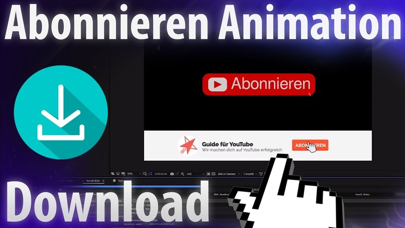 YouTube animation Abonnieren