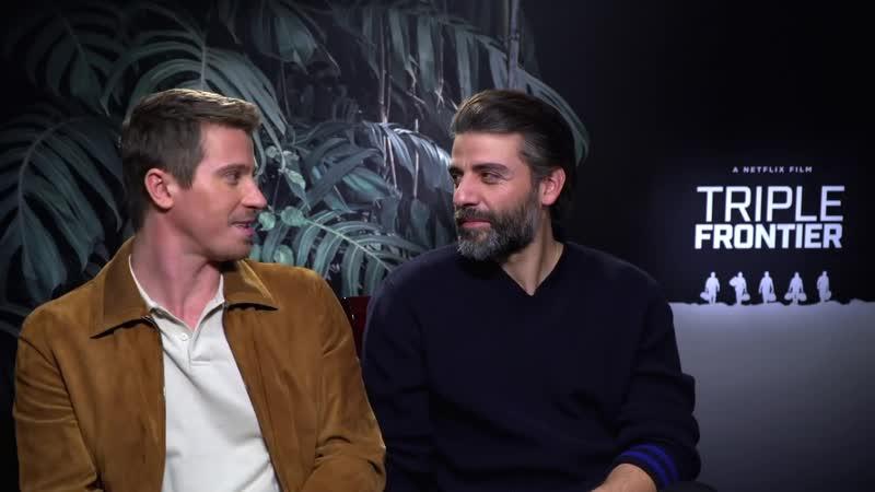 Garrett Hedlund Oscar Isaac's hilarious bromance