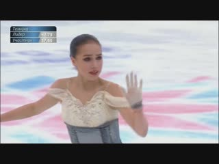 Алина Загитова - Alina Zagitova - アリーナ・ザギトワ - Russian Nationals 2019 Ladies - S_Full-HD_60fps