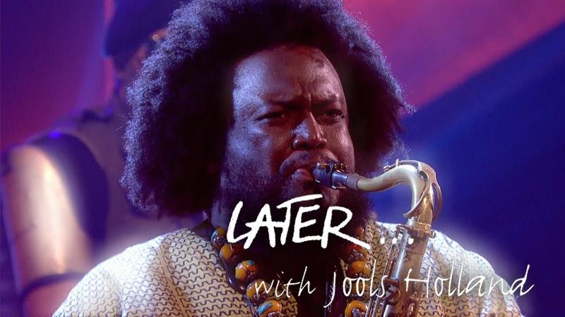 Jazz king Kamasi Washington performs Fists of Fury on Later... with Jools