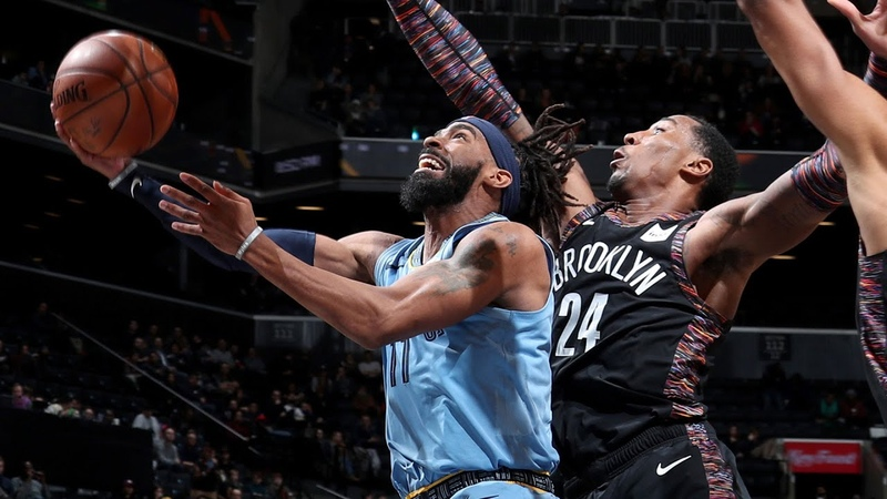 Mike Conley Nails Season-High 37 Points against Nets - Full Highlights | November 30, 2018