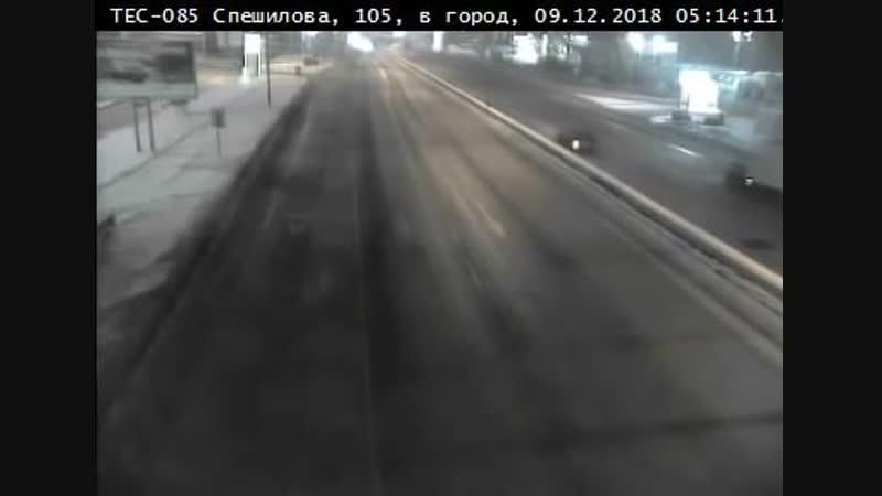 ДТП 09-12-2018 05-14 Спешилова, 109 В Перми «Мерседес» с пьяным водителем разорвало на части. Погибла девушка