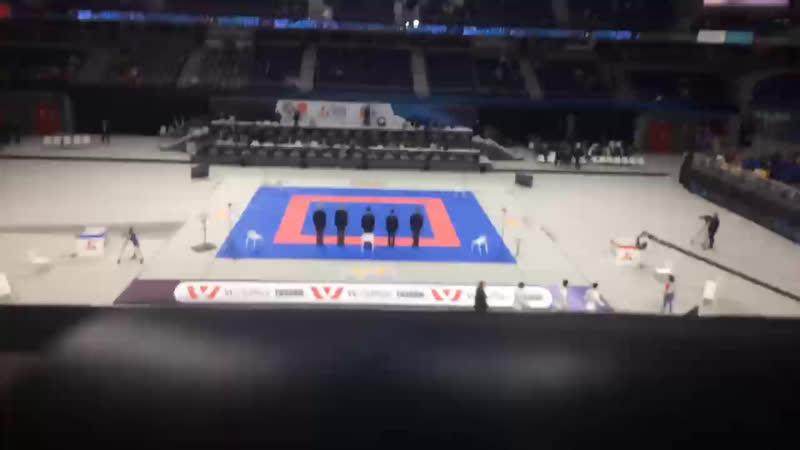 Чемпионат Мира по каратэ, Мадрид. 🇪🇸 День 6, команды. Финалы и бронзовые финалы