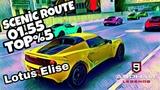 Asphalt 9 - Lotus Elise Sprint 220 - Scenic Route - 01,55 ,188