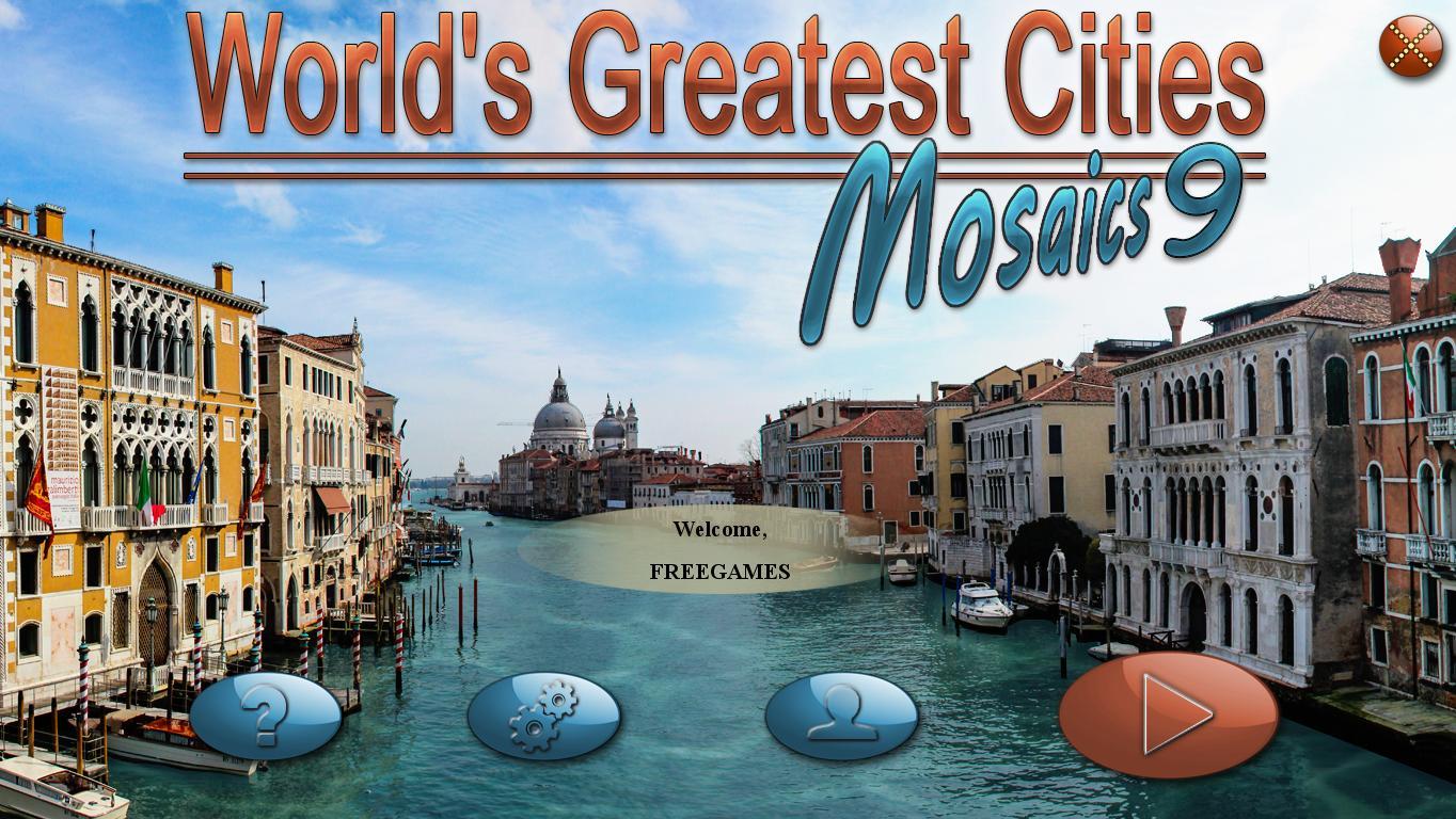 Величайшие города мира. Мозаика 9 | World's Greatest Cities Mosaics 9 (En)
