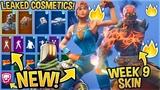 *NEW* All Leaked Fortnite Skins & Emotes..!*WEEK 9 SKIN*(Marshmello Skin, GlowSticks, Keep It Mello)