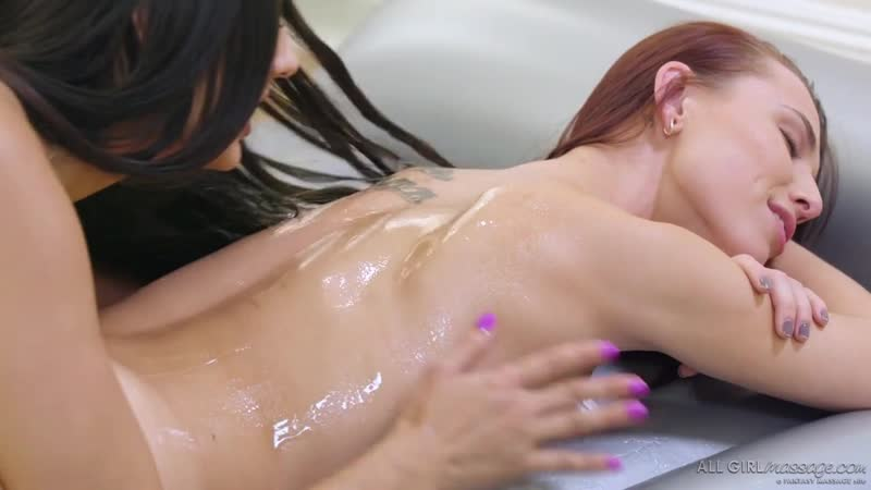 Aidra Fox and Eliza Ibarra Whats Nuru Gel New Porn, Sex, 2019, HD, Massage,