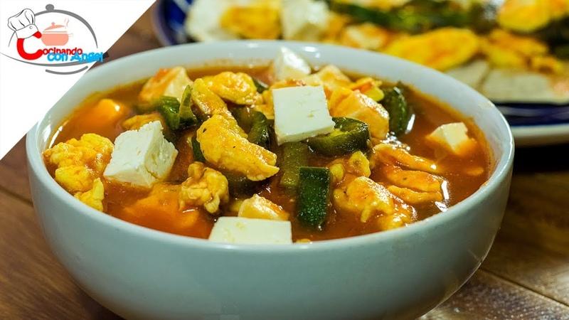 Desayuno Mexicano, Huevos con Rajas