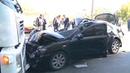 В Днепре на Каруны Toyota врезалась в ГАЗель и перекрыла виадук погиб мужчина