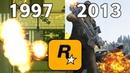 Evolution Of Explosion in Gta Games 1997 - 2013