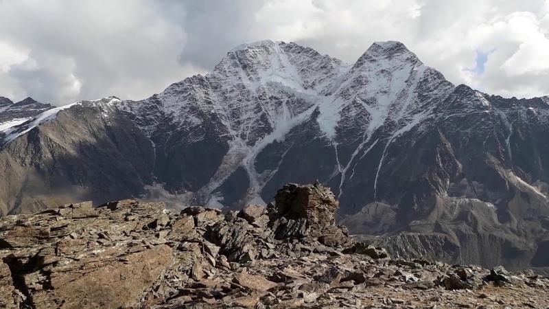 Донгуз - Орун, лавина на леднике семерка