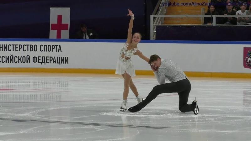 Boikova Kozlovskii 2018.09.09 Open Skating FS