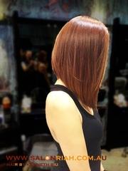 Kenneth Siu's Haircut - Concave Long Bob