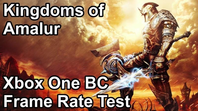 Kingdoms of Amalur Xbox One/X vs Xbox 360 Backwards Compatibility Frame Rate Comparison