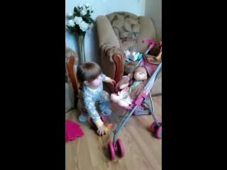 Видео отзыв о моей куколке Аленке.